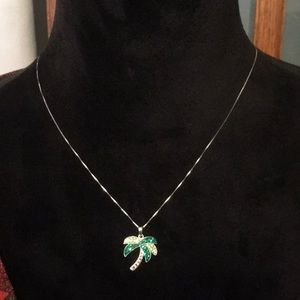 Jewelry - Palm Tree Pendant Necklace